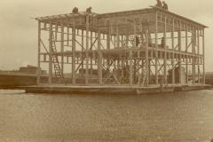Bouwfase Botenhuis in aanbouw